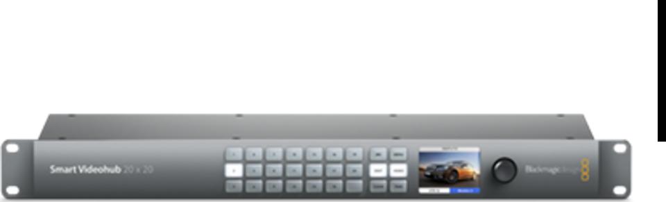 Blackmagic Design Smart Videohub 20x20 Full Specifications