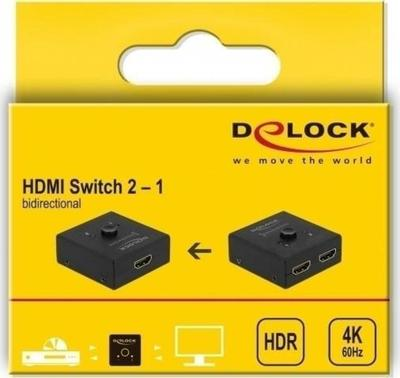 Delock Hdmi 2 1 Bidirectional 4k Switch Video Full Specifications
