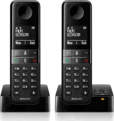 Philips D4552 (D455 Duo) Cordless Phone