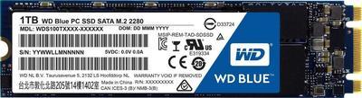 WD Blue PC SSD WDS100T1B0B