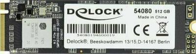 DeLock M.2 SSD 512 GB