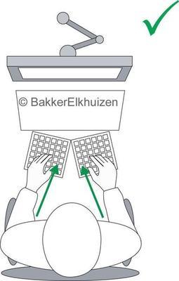 Bakker Elkhuizen Goldtouch Adjustable V2 - US