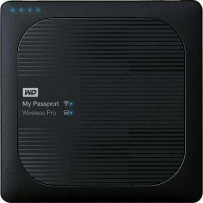 WD My Passport Wireless Pro WDBP2P0020BBK 1 x 3 TB Festplatte