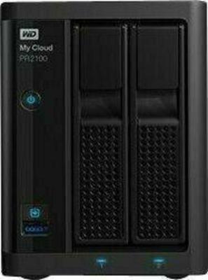 WD My Cloud PR2100 WDBBCL0280JBK 2 x 14 TB Festplatte