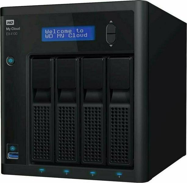 WD My Cloud EX4100 WDBWZE0400KBK 4 x 10 TB