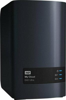 WD My Cloud EX2 Ultra WDBVBZ0240JCH 2 x 12 TB Festplatte