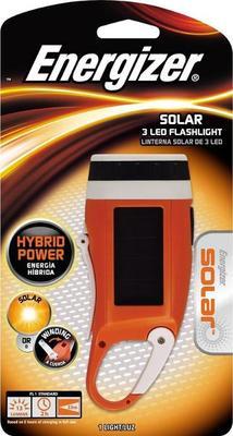 Energizer Solar Carabiner Crank Light Flashlight