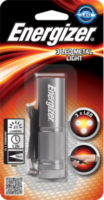 Energizer LED Metal Torch Flashlight