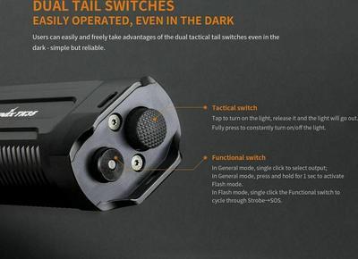 Fenix TK35 1300LM Lampe de poche