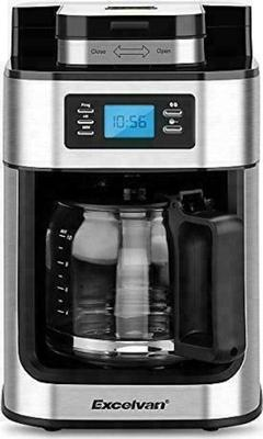 Excelvan 1050W 1.25L Automatic Programmable Coffee Maker