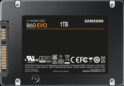 Samsung 860 EVO MZ-76E1T0B SSD-Festplatte