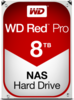WD Red Pro NAS Hard Drive WD8001FFWX 8 TB