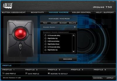 Adesso iMouse T50