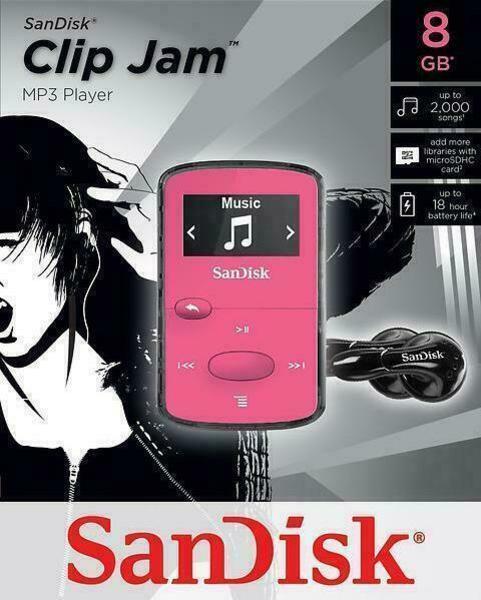 SanDisk Clip Jam 8GB Odtwarzacz MP3