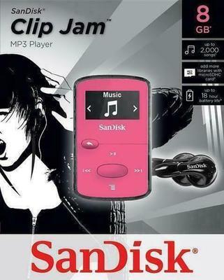 SanDisk Clip Jam 8GB MP3-Player
