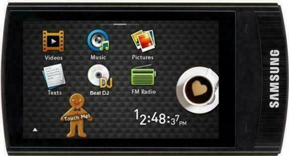Samsung YP-R1 R'Mix 8GB mp3 player