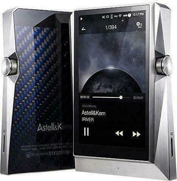 Astell&Kern AK380 Stainless Steel 256GB Odtwarzacz MP3