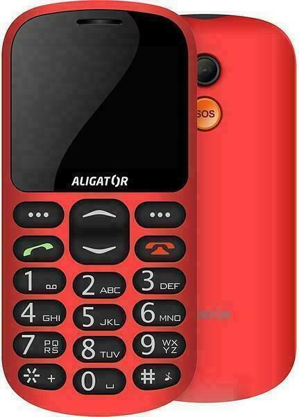 Aligator A880 GPS Senior Mobile Phone