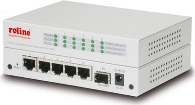 Roline 5-Port Gigabit Ethernet Switch + 1 Mini GBIC port