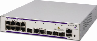 Alcatel-Lucent OmniSwitch 6450-10L Switch