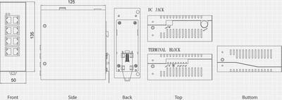 LevelOne IES-0910 Switch