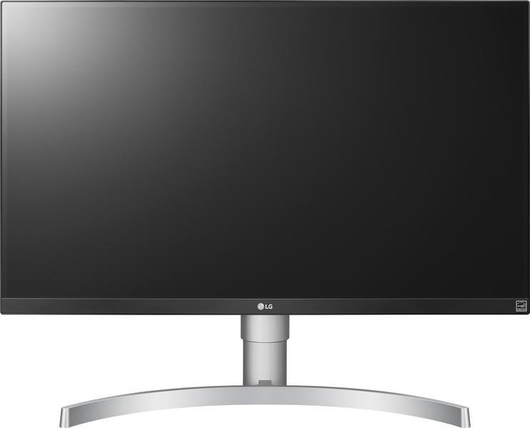 LG 27UK650-W Monitor front