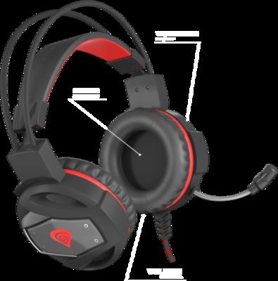 Natec Genesis Neon 350 Headphones