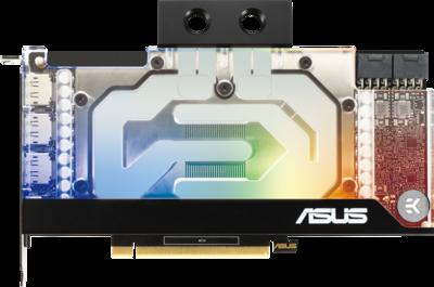 Asus EKWB GeForce RTX 3090 Graphics Card