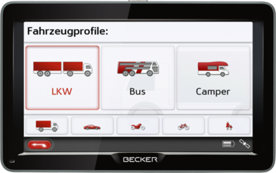 Becker Transit 70 LMU pro
