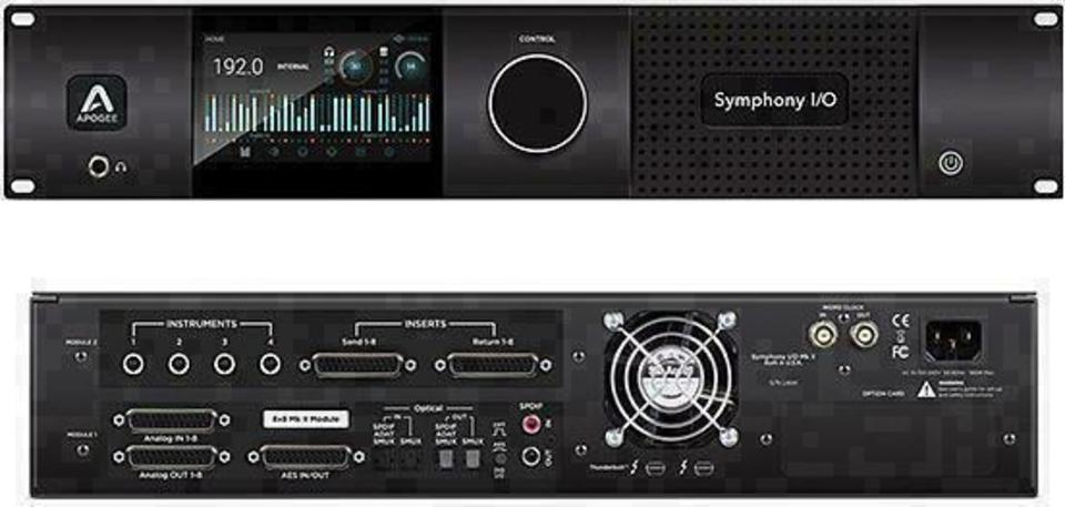 Apogee Symphony I/O 8x8+8MP MK2 front