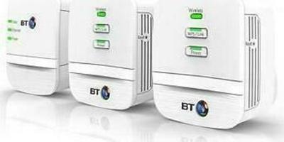 BT Mini Wi-Fi Home Hotspot 600 Multi Kit (Triple) Powerline Adapter