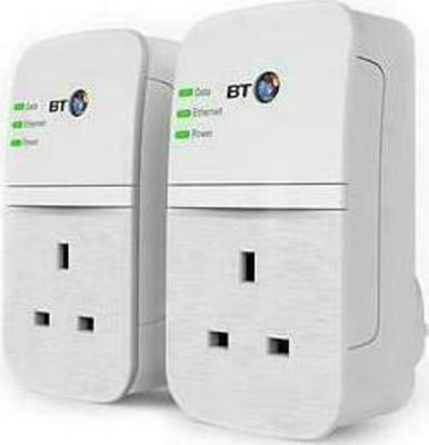 BT Broadband Extender Flex 600 Kit (Twin Pack) Powerline Adapter