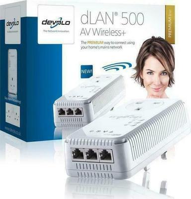 Devolo dLAN 500 AV Wireless+ (1832)