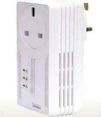 Aztech HomePlug AV 500Mbps Pass Through (HL115EP)