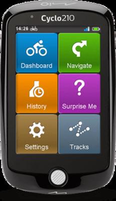 Mio Cyclo 210 GPS Navigation