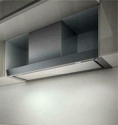 Elica Hidden Glass 120cm