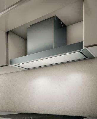 Elica Hidden Glass 90cm
