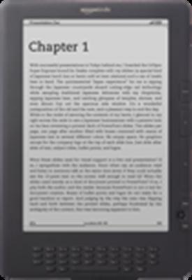 Amazon Kindle DX Ebook Reader