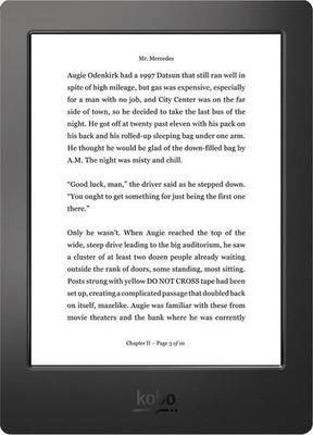 Kobo Aura H2O Ebook Reader
