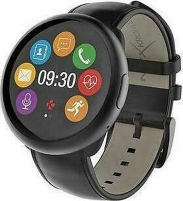 MyKronoz ZeRound 2 HR Premium Leather Smartwatch