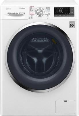 LG F4J8FH2W Washer Dryer