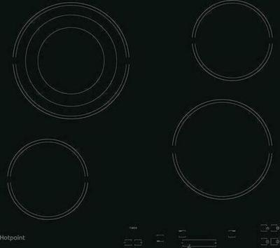 Hotpoint HR607BH Cooktop