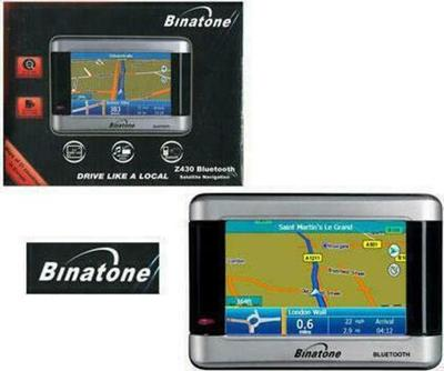 Binatone Z430 GPS Navigation