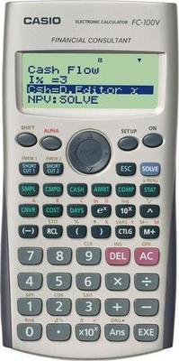 Casio FC-100V Calculator