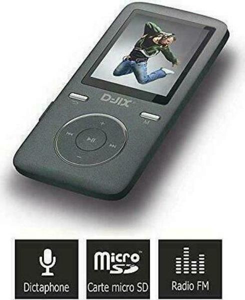 D-Jix M1814BT 8GB Odtwarzacz MP3