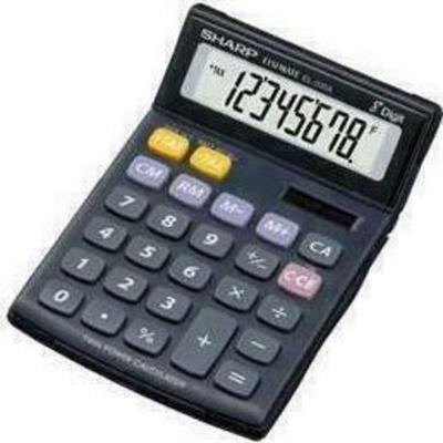 Sharp EL-330AB Taschenrechner