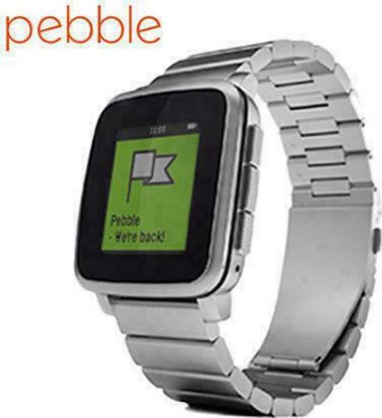 Pebble Time Steel Metal