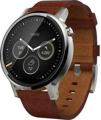 Motorola 360 2nd Gen Mens 42mm Metal Smartwatch