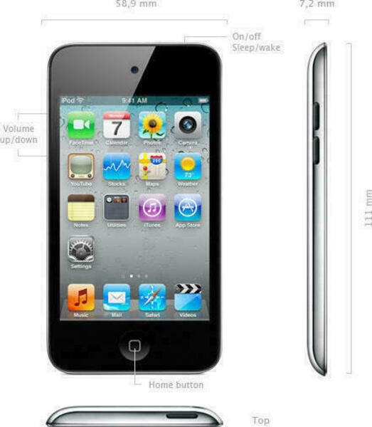 Apple iPod Touch (4th Generation) Odtwarzacz MP3