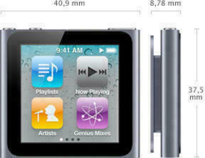 Apple iPod Nano (6th Generation) Odtwarzacz MP3